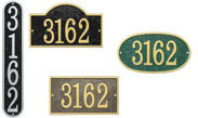 Whitehall Fast Delivery Address Signs