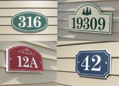 Polyethylene Address Plaques