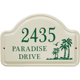 Palm Arch Plaque