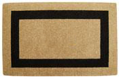 Single Border Plain Coir Doormat