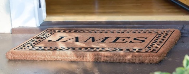 Personalized Coir Door Mats