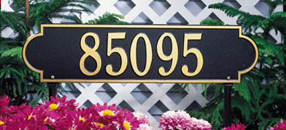 Personalized Address Plaques and House Signs
