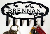 Personalized Vine Key Rack