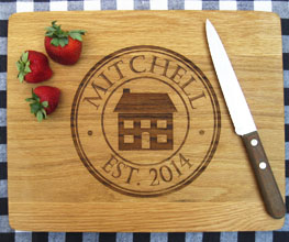 Wooden Cutting Boards Made Of Walnut White Oak Or Bamboo Make Great Housewarming And Closing Gifts