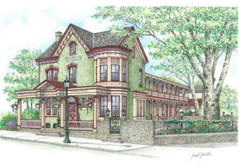 Original House And Business Property Drawings Sketches